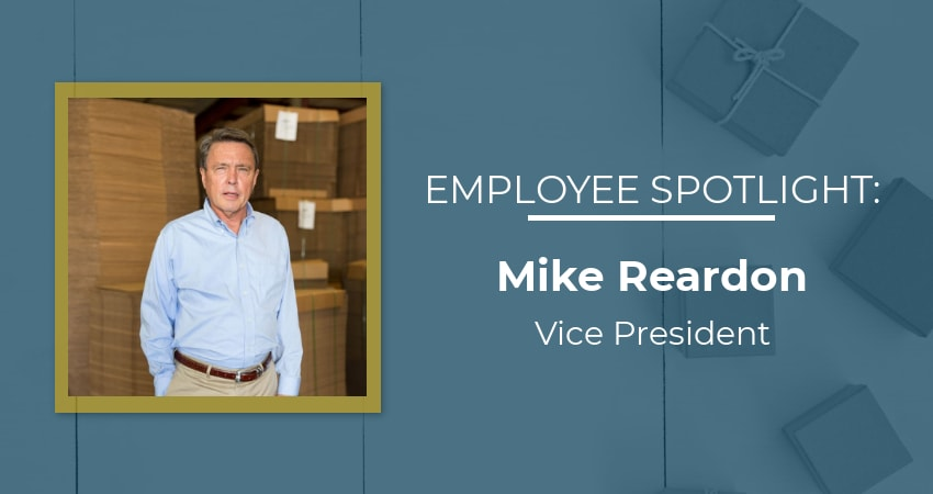 Mike Reardon Employee Spotlight Graphic